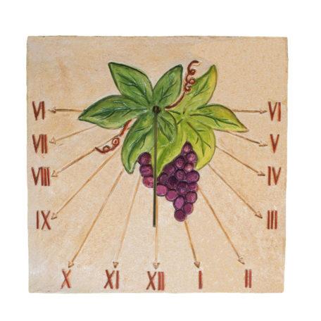 Cadran solaire raisin