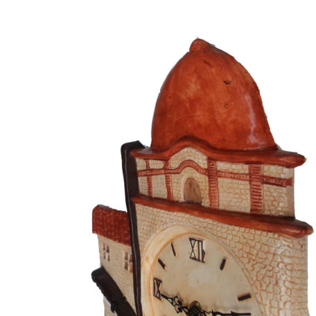 horloge barque catalane profil