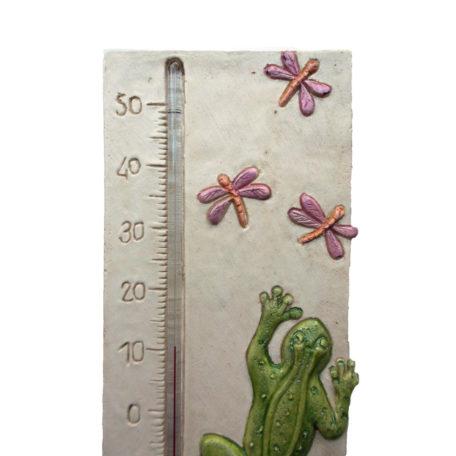 Thermomètre grenouille détail