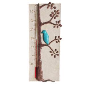 Thermomètre chambre de bébé avec un oiseau bleu