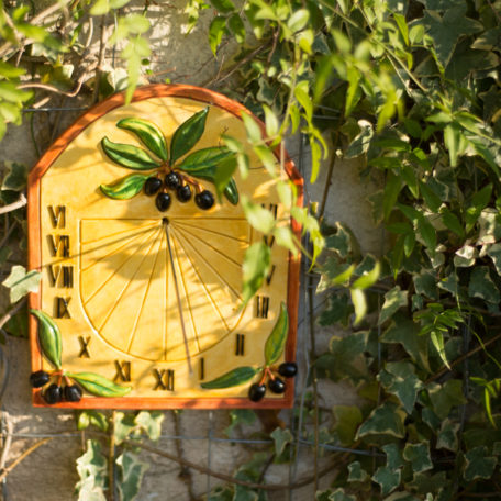 Cadran solaire provençal en situation