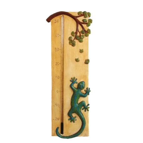 Thermomètre géant salamandre