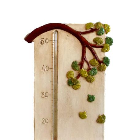 Thermomètre géant salamandre : détails