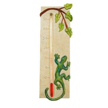 Thermomètre gécko: décoratif, intérieur et ou extérieur