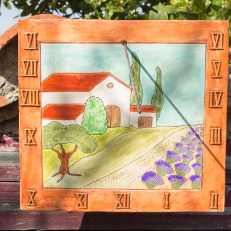 cadran solaire maison provençale