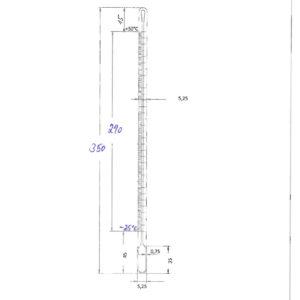 capillaire thermometre géant